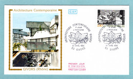FDC France 1985 - Architecture Contemporaine - Jean Renaudie - YT 2365 - 69 Givors - 1980-1989