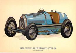 ** Lot De 5 Cartes ** VOITURES AUTOS Années 1910/1934  CPSM Format CPA (UK) Cars Coches Automobili Auto's Kraftfahrzeuge - Passenger Cars