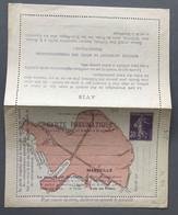 France Entier Carte PNEUMATIQUE MARSEILLE (semeuse 30c.) CLPMRP - Neuve - Cote 550€ - (F441) - Pneumatic Post