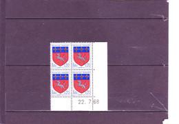N° 1510 - 0,20 SAINT LO - 5° Tirage Du  16.07.68 Au 8.8.68 - 22.07.1968 - - 1960-1969