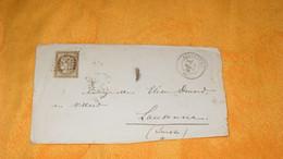 ENVELOPPE ANCIENNE DE 1876../ CACHETS BEAUCOURT POUR LAUSANNE SUISSE..OBLIERATION GC 370 + TIMBRE CERES 30C.. - 1849-1876: Période Classique