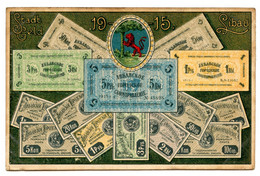 Cpa, Libau, Stradt Geld 1915 - Lettonie  /n 296 - Lettonia