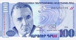 Armenia 100 Dram 1998  Pick 42 UNC - Armenia