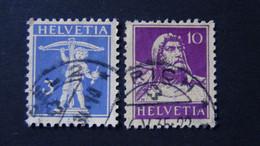 Switzerland - 1930 - Mi:CH 199x,204x Sn:CH 156,169 Yt:CH 241,243 O - Look Scan - Usados