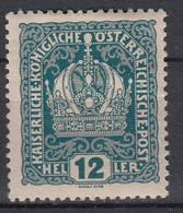 OOSTENRIJK - Michel - 1916 - Nr 189 - MH* - Unused Stamps