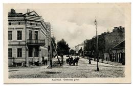 Cpa, KAUNAS. Gedimino Gatve - Lituanie  /n 300 - Lithuania