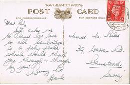 38401. Postal  LINTON (Cambridge) England 1938. Views Cambridge - Ohne Zuordnung