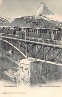 Ligne Zermatt-Gornergrat (VS) Gornergratbahn - VS Valais