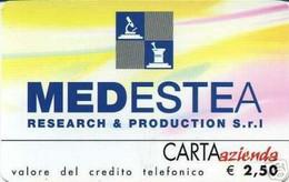 *CARTA AZIENDA 2° Tipo: MEDESTEA - Cat. 628* - NUOVA (MINT) (FT) - Unclassified