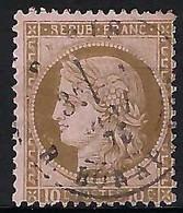 FRANCE 1872: Le Y&T 54, B Oblit. CAD Paris Du 1er Mai 75 - 1871-1875 Ceres
