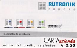 *CARTA AZIENDA 2° Tipo: RUTRONIK - Cat. 633* - NUOVA (MINT) (FT) - Unclassified