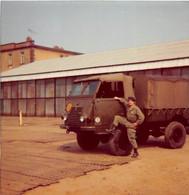 ¤¤   -   Lot De 4 Clichés  -  Matériel Militaire  -  Camions , Jeep   -  Voir Description    -  ¤¤ - Materiaal