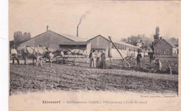 LIANCOURT -60- Etablissement BAJAC – Défrichement à L'aide Du Treuil - Animation - Liancourt