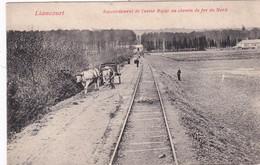 LIANCOURT -60- Raccordement De L'usine Bajac Au Chemin De Fer Du Nord - Animation - Liancourt