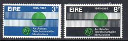 Ireland 1965 ITU Centenary Set Of 2, MNH, SG 205/6 - Gebruikt
