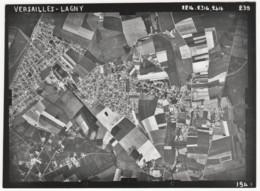 ° VERSAILLES - LAGNY  ° PONTAULT - COMBAULT  ° PHOTO AERIENNE ° Photo Du 16 Juin 1949 ° Photo IGN ° - Aviation