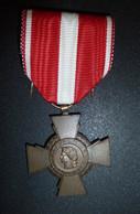 Croix De La Valeur Militaire - Francia