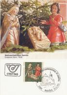 AUSTRIA. MAXICARD FIRST DAY. CHRISTMAS. 1982 - Cartes-Maximum (CM)