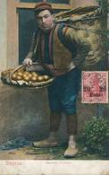 Smyrne Marchand D' Oranges . Orange Seller .  Smyrna Deutsche Post . Texte Français Sur Orange , Jaffa, Jerusalem - Turquia