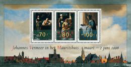 Ref. 100962 * NEW *  - NETHERLANDS . 1996. RETROSPECTIVE OF THE PAINTER JOHANNES VERMEER. RETROSPECTIVA DEL PINTOR JOHAN - Nuovi