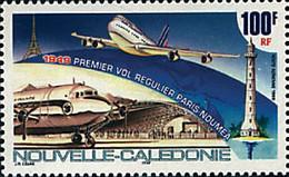 Ref. 67931 * NEW *  - NEW CALEDONIA . 1999. 15.905 50TH ANNIVERSARY OF THE FIRST REGULAR FLIGHT PARIS-NOUMEA. 50 ANIVER - Nuovi