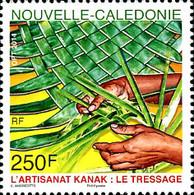 Ref. 331444 * NEW *  - NEW CALEDONIA . 2014. BRAIDED. TRENZADO - Unused Stamps