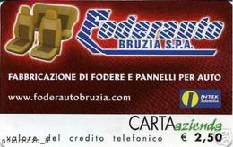 *CARTA AZIENDA 2° Tipo: FODERAUTO BRUZIA - Cat. 640* - NUOVA (MINT) (FT) - Unclassified