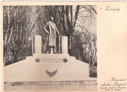 CPSM DE REVIGNY MONUMENT ANDRE MAGINOT - Revigny Sur Ornain