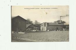 40 - SAUGNAC ET MURET - Union Des Resineux La Distillerie Bon état - Altri Comuni