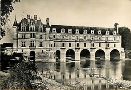 37 - Chenonceau - Le Château - CPSM Grand Format - Voir Timbre - CPM - Voir Scans Recto-Verso - Chenonceaux