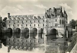 37 - Chenonceau - Le Château - Façade Est - CPSM Grand Format - CPM - Voir Scans Recto-Verso - Chenonceaux