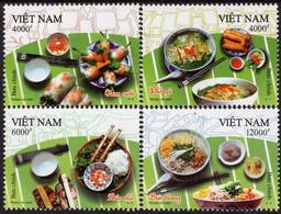 Vietnam - 2020 - Vietnamese Cuisine - Mint Stamp Set - Vietnam