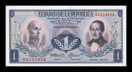 Colombia 1 Peso Oro 1974 Pick 404e SC UNC - Colombia