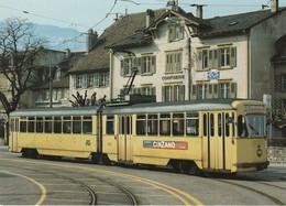 N° 9165 R -cpm Tramway à Neuchâtel -automotrice électrique Be 4/6 594 - Tramways
