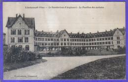 Carte Postale 60. Liancourt  Sanatorium D'Angicourt  Pavillon Des Malades  Très Beau Plan - Liancourt