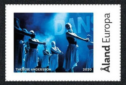 2020 - ALAND - MY STAMPS - DUNDERDANS - SCUOLA DI DANZA / DANCE SCHOOL.  MNH - Dans