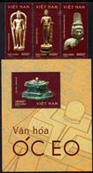Vietnam - 2020 - Oc Eo Culture - Mint Stamp Set + Souvenir Sheet - Vietnam