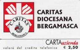 *CARTA AZIENDA 2° Tipo: CARITAS DIOCESANA BERGAMASCA - Cat. 655* - NUOVA (MINT) (FT) - Unclassified