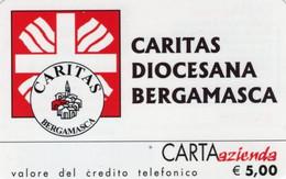 *CARTA AZIENDA 2° Tipo: CARITAS DIOCESANA BERGAMASCA - Cat. 656* - NUOVA (MINT) (FT) - Unclassified