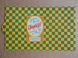 Etiquette Ancienne De Boîte De Savon De Beauté JONETT, Londres, Paris - Etiketten