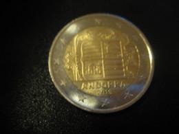 2 EUR 2018 ANDORRA Bi-metallic Coat Of Arms Good Condition Euro Coin - Andorra
