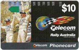 Australia - Telstra (Anritsu) - 1994 Perth, Rally Australia - Toyota Winners, 09.1994, 5$, 10.000ex, Mint - Australia