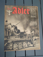 Der Adler Numéro 20/ BERLIN, 6 Octobre 1942 - Edition Française - - 1939-45