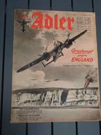 Der Adler Numéro 23/ BERLIN, 19 Novembre 1940 - - 1939-45