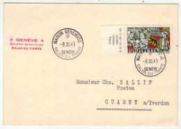Suisse /Schweiz/Svizzera // Marcophilie // Carte Avec Le Cachet  Maison Genevoise 8.11.1941  S231 - Postmark Collection