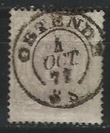 WW-/-786.- N° 29, OBL. C A D , Cote 55.00 € ,  TB - REF. COB 2003 - IMAGE DU VERSO SUR DEMANDE - 1866-1867 Coat Of Arms