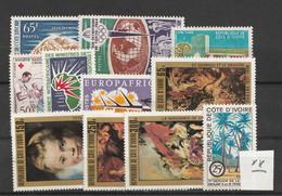 Elfenbeinkueste / Lot Mit Versch. Ausgaben */postfrisch (C663) - Lots & Kiloware (mixtures) - Max. 999 Stamps