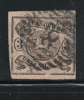 Braunschweig / 1853 / Mi. 8 Gestempelt (C667) - Braunschweig