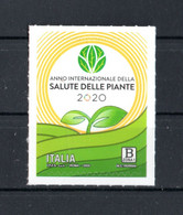 """ITALIA : Anno Della """"Salute Delle Piante"""" - 1 Val.  MNH**  Del  12.11.2020 - 2011-...: Ungebraucht"""