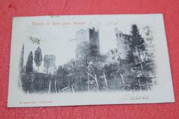Lecco Sopra Varenna Il Castello Di Vezio 1904 Ed. Ogna TOP Quality - Altre Città